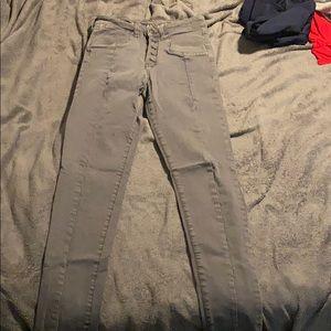 Dark Gray American Eagle Jeans